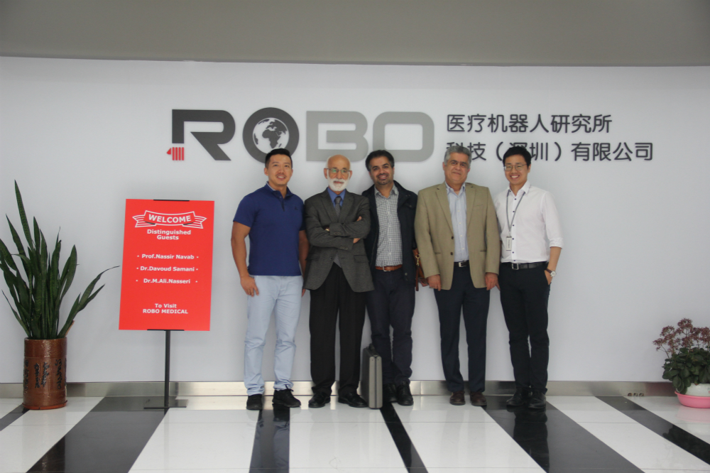 Prof. Nassir Navab from Technical University of Munich visited ROBO Medical